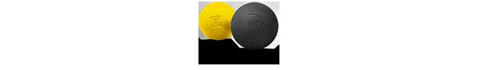 Impression du logo Bista sur les pelotes